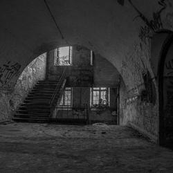 prison stairwell