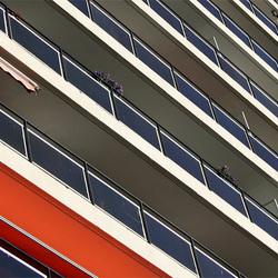 architectuur flatgebouw