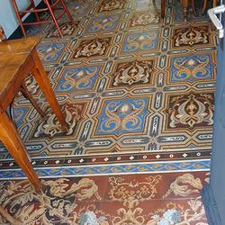 Geen tapijt covid  leegte 1 2006270173mw