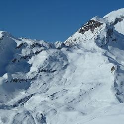 winters alpenlandschap