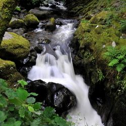 Aira Force Waterval, The Lake District, Cumbria, Engeland