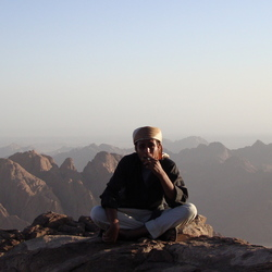 mozesberg sinai woestijn
