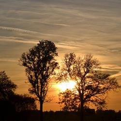 Sun goes down.