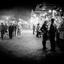 markt in de avond