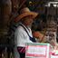 Straat verkoper Thailand