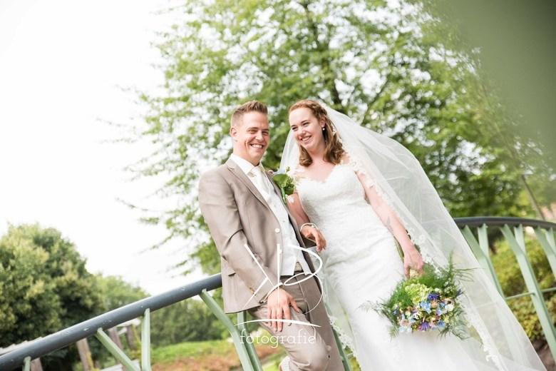 Bruiloft Schiedam  - Bruidspaar Leroy en Kimberley