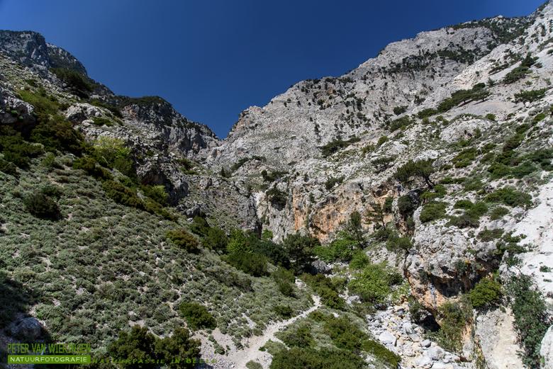 Gebergte op Kreta