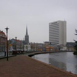 Zicht op Schiedam Centrum