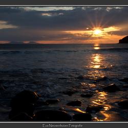 Zonsondergang Talisker Bay
