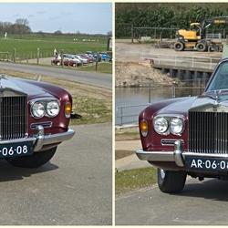 Een Rolls Royce Saloon.
