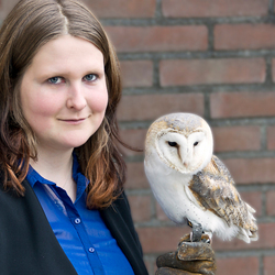 Lady and her Owl