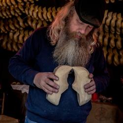 Gerald Getkate, klompenmaker