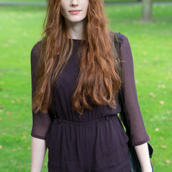 Ginger in the park