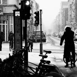 Antwerpen - Sneeuw