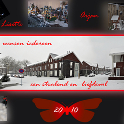 Kerst collage