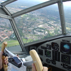 View from a Junkers JU52