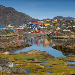 Colorful Greenland