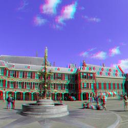 Binnenhof Den Haag 3D GoPro 200mm