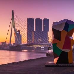 Ochtend in Rotterdam