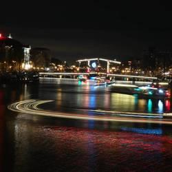 Amsterdam Lightfestival 2018 Carré en Magere Brug