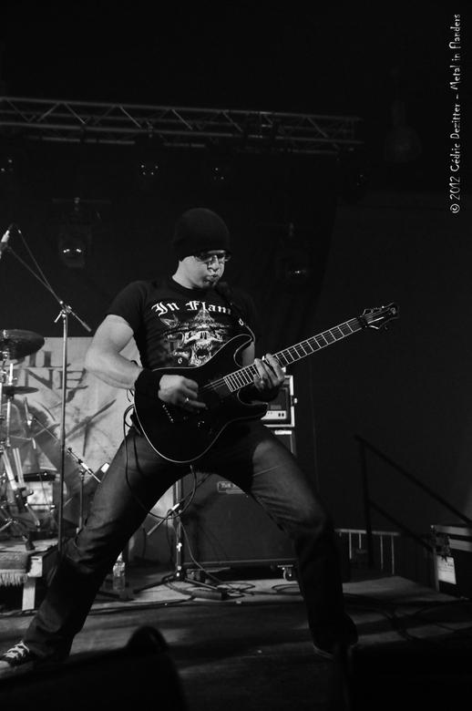 Spoil Engine 10 - 'Spoil Engine' - een Belgische metal band - speelde op 'Metal in Flanders Fest' in de Qubus in Oudenaarde op 10