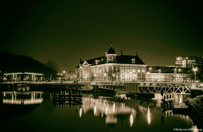 Rijksmunt Utrecht by night