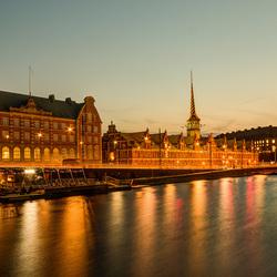 Kopenhagen - Beurs en Christiansborg