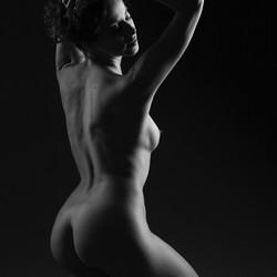 Juliya (black and white)