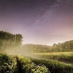 Melkweg boven de Grote Beerze