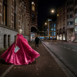 Lady Galore | streets of Amsterdam
