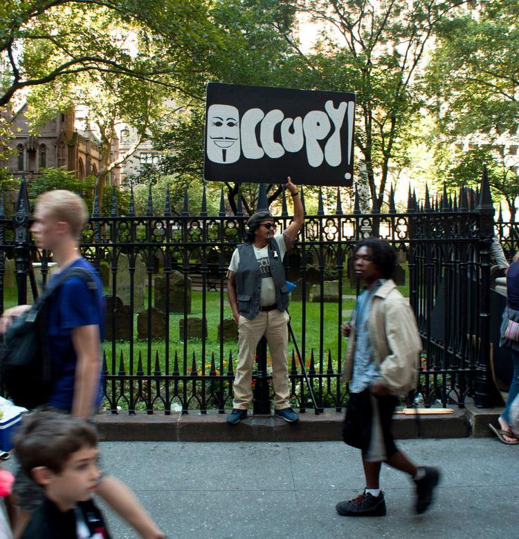 Protestatie in New York - Protestatie in New York