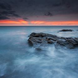 Treyarnon Bay sunset