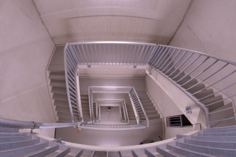 trap Strijp-S - Trap parkeergarage van Strijp-S in Eindhoven