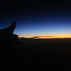 WAKE UP TO SUNRISE OVER GERMANY . .
