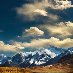 Landschap in Tadjikistan. _Q001358