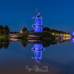 Blue mills