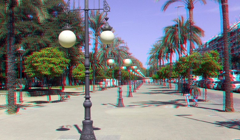 Street of Cordoba Spain 3D - Strret Cordoba Spain<br />