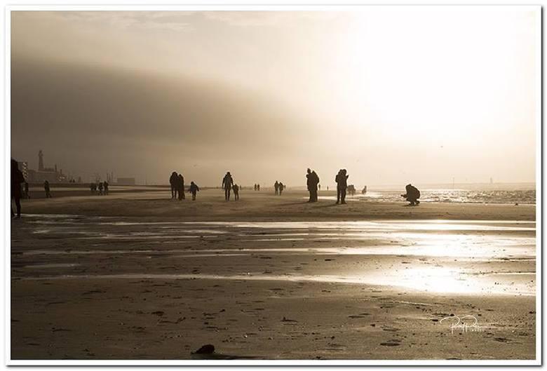 Zondag op het strand