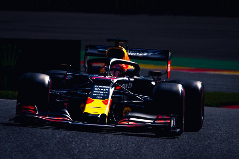 max verstappen tijdens de GP van België - max verstappen tijdens de GP van België