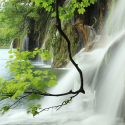 Waterval Plitvice Lakes Croatia