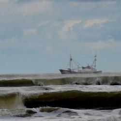 Op de Noordzee