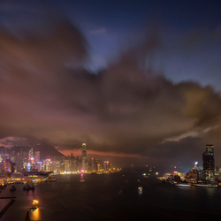 Hong Kong sundown