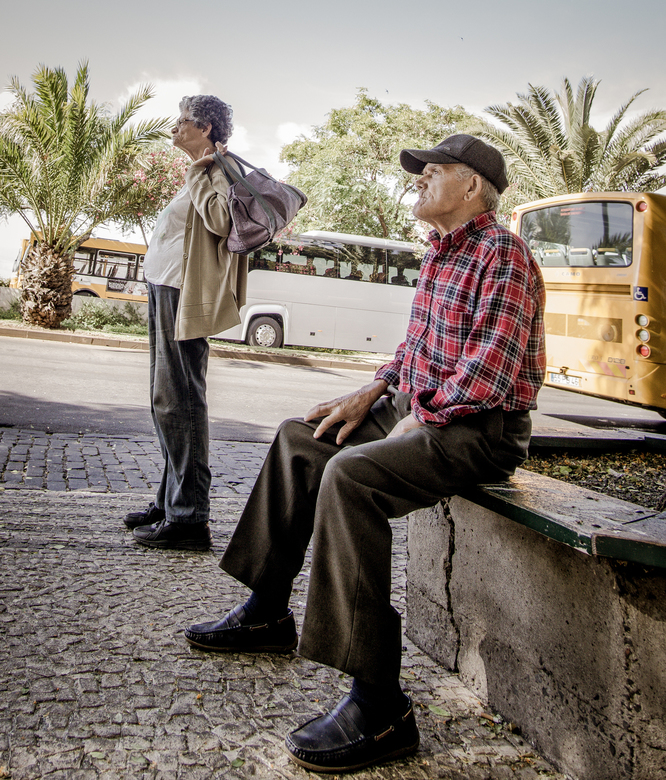 People in Streets Madeira -