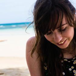 Beach smile