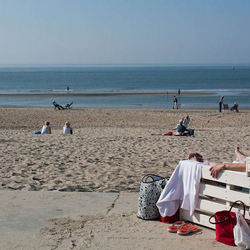 27 km. strand op Texel