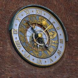 Astronomische klok.