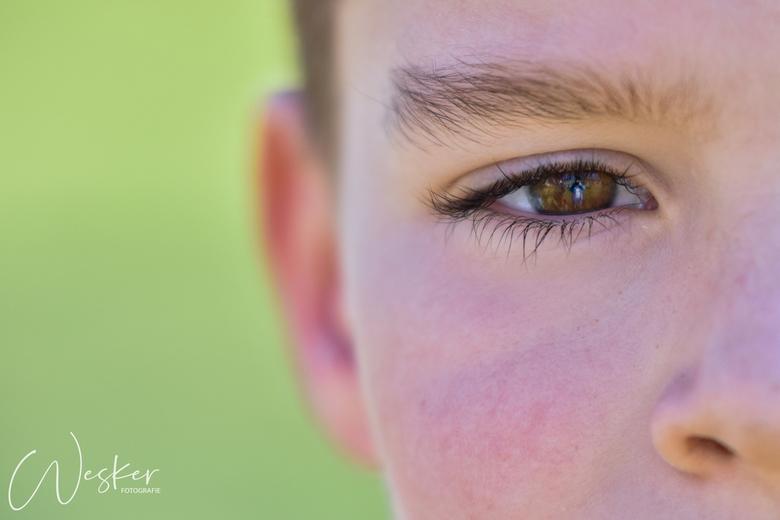 Face it - Wanneer alle meiden jaloers zijn op je mooie ogen en lange wimpers, moet dit natuurlijk even close-up vastgelegd worden.