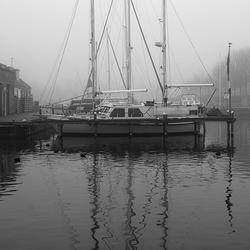 Sailing boats...