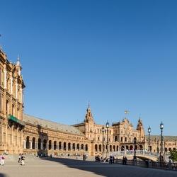 Sevilla Spaanse paviljoen wereldtentoonstelling 1929