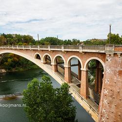 De brug over de Tarn bij Gaillac